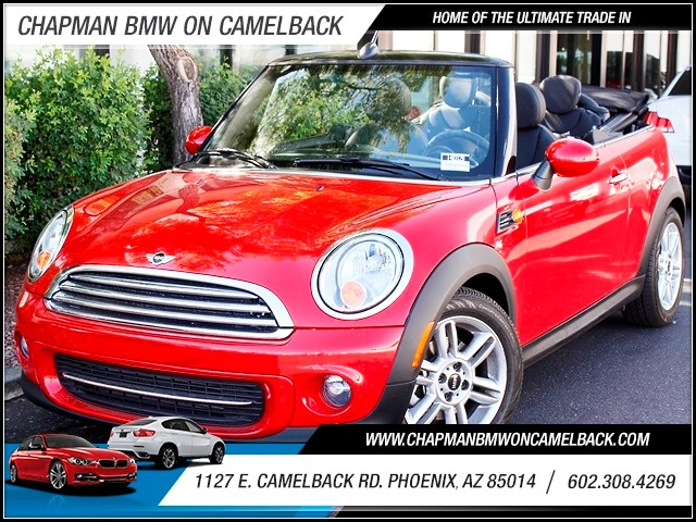 2013 MINI Cooper Convertible 3908 miles 1127 E Camelback BUY WITH CONFIDENCE Chapman BMW
