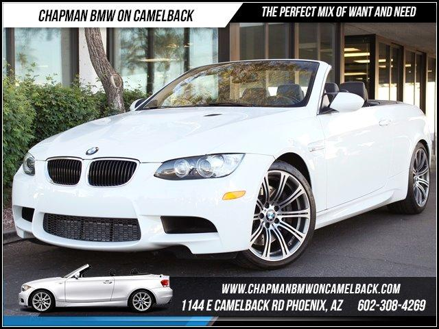 2012 BMW M3 Conv Prem Pkg NAV 13273 miles 1144 E CAMELBACK RD March CPO Sales Event All 2011