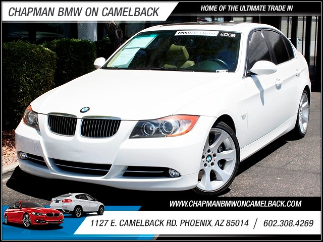 2008 BMW 3-Series Sdn 335i 96714 miles 1127 E Camelback BUY WITH CONFIDENCE Chapman BMW i