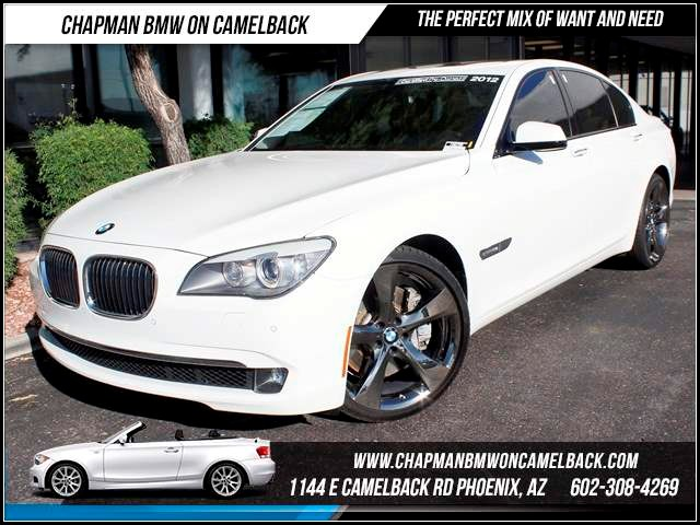 2012 BMW 7-Series 750i 40057 miles 1144 E Camelback The BMW Certified Edge Sales Event If you