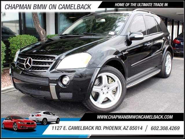 2007 Mercedes M-Class ML63 AMG 76038 miles 1127 E Camelback BUY WITH CONFIDENCE Chapman B