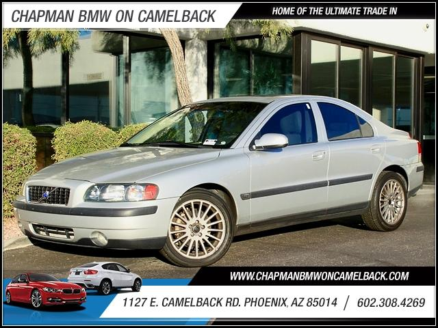 2003 Volvo S60 4dr Sdn 24L Turbo 29758 miles 1127 E Camelback BUY WITH CONFIDENCE Chapma