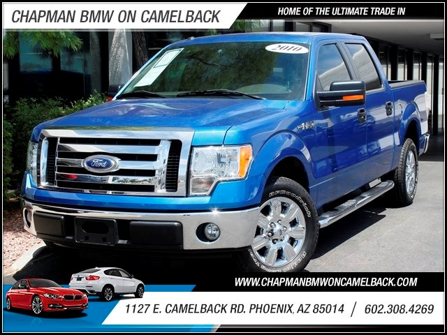 2010 Ford F-150 XLT Crew Cab 47822 miles 1127 E Camelback BUY WITH CONFIDENCE Chapman BMW
