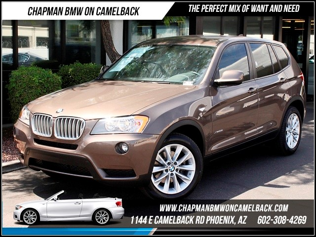 2013 BMW X3 xDrive28i Prem Package 24595 miles 1144 E Camelback Summer is here and the deals are
