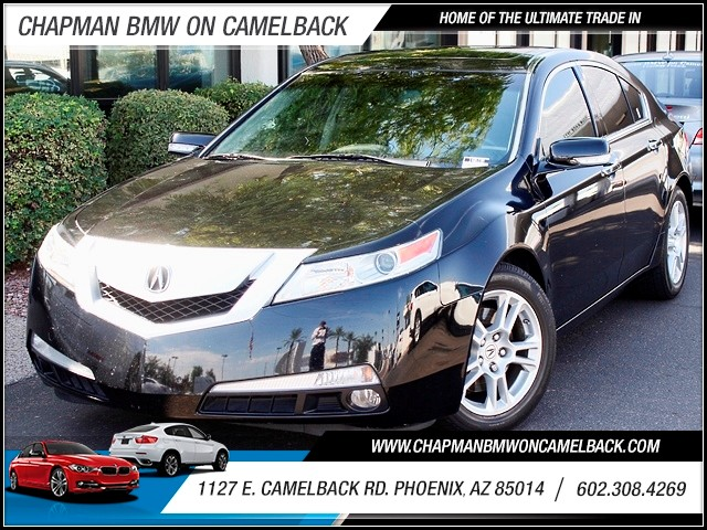 2009 Acura TL Tech Pkg 57778 miles 1127 E Camelback BUY WITH CONFIDENCE Chapman BMW is lo