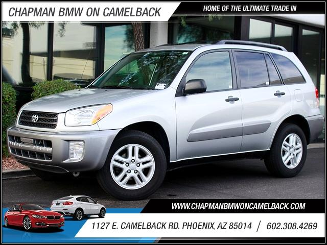 2002 Toyota RAV4 4dr 90398 miles 1127 E Camelback BUY WITH CONFIDENCE Chapman BMW is loca