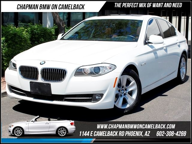 2011 BMW 5-Series 528i 27933 miles 1144 E Camelback Chapman BMW on Camelback in Phoenix is the C