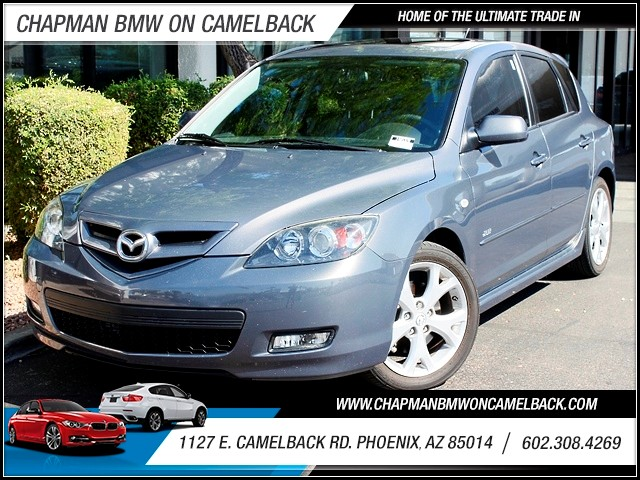 2007 Mazda MAZDA3 S Grand Touring 93710 miles 1127 E Camelback BUY WITH CONFIDENCE Chapma