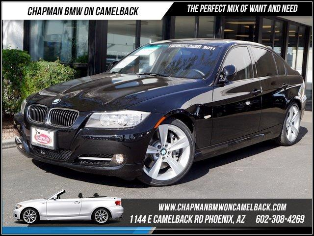2011 BMW 3-Series Sdn 335i PremSport Pkg 38705 miles 1144 E CAMELBACK RD March CPO Sales Event