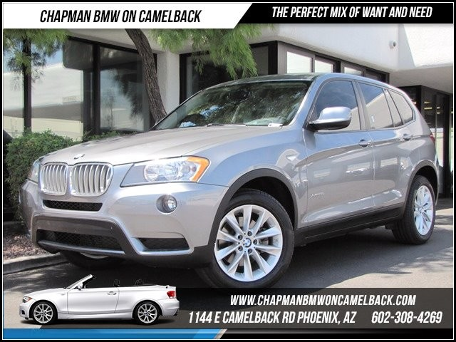 2013 BMW X3 xDrive28i 21859 miles 1144 E Camelback Summer is here and the deals are sizzling C