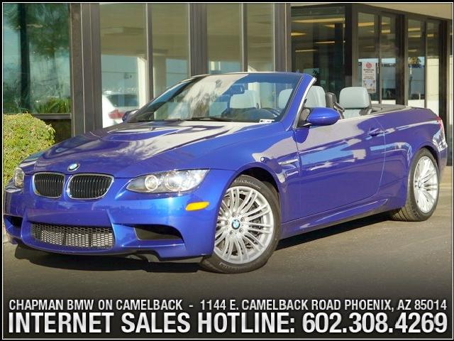 2011 BMW M3 Conv 45951 miles 6023852286Chapman BMW on Camelbacks Happier New Year EventOver