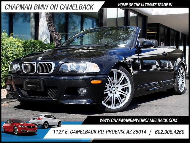 2006 BMW M3 Conv 33582 miles 1127 E Camelback BUY WITH CONFIDENCE Chapman BMW is located
