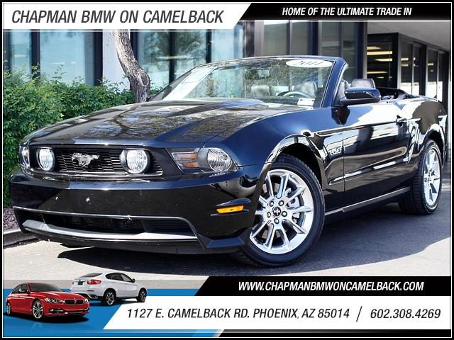 2011 Ford Mustang Conv GT 38016 miles 1127 E Camelback BUY WITH CONFIDENCE Chapman BMW is