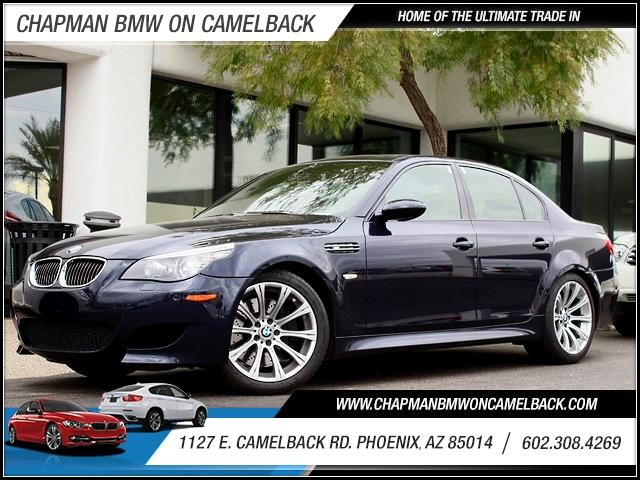 2008 BMW M5 28618 miles 1127 E Camelback BUY WITH CONFIDENCE Chapman BMW is located at 12