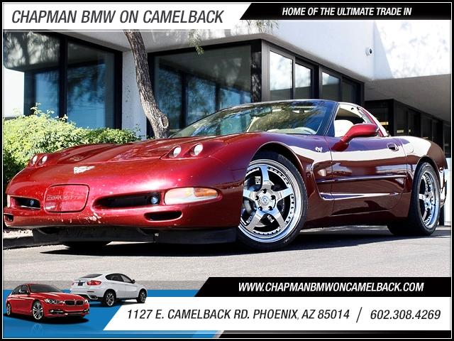 2003 Chevrolet Corvette 50th Anniversary Edition 76794 miles 1127 E Camelback BUY WITH CONFIDEN