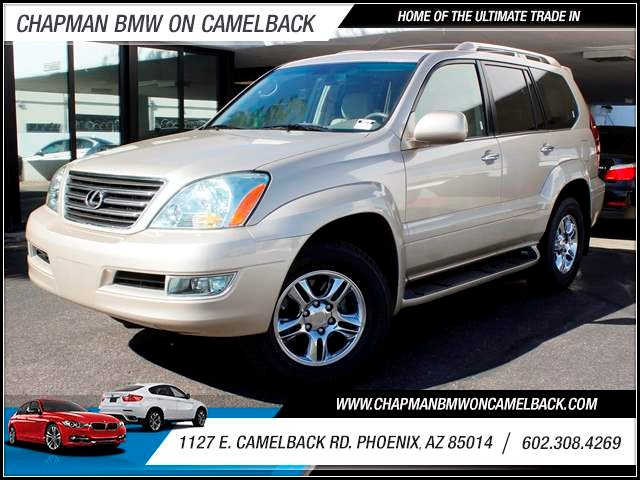 2008 Lexus GX 470 74076 miles 1127 E Camelback BUY WITH CONFIDENCE Chapman BMW is located