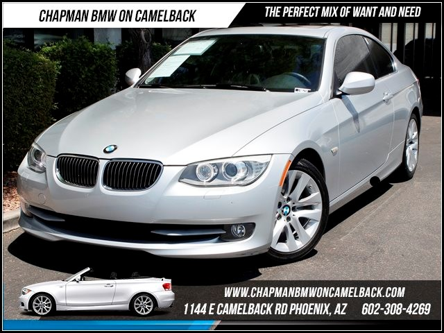 2012 BMW 3-Series Cpe 328i Prem Pkg 26678 miles 1144 E Camelback The BMW Certified Edge Sales Ev