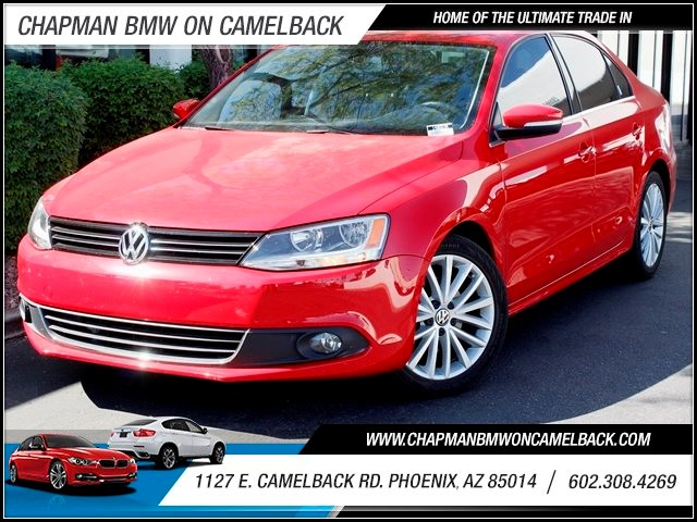 2011 Volkswagen Jetta SEL PZEV 27399 miles One Previous Owner Sport Package Sport Suspension Na