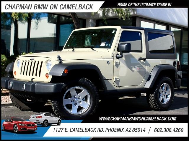 2011 Jeep Wrangler Rubicon 4WD 8258 miles 1127 E Camelback BUY WITH CONFIDENCE Chapman BM