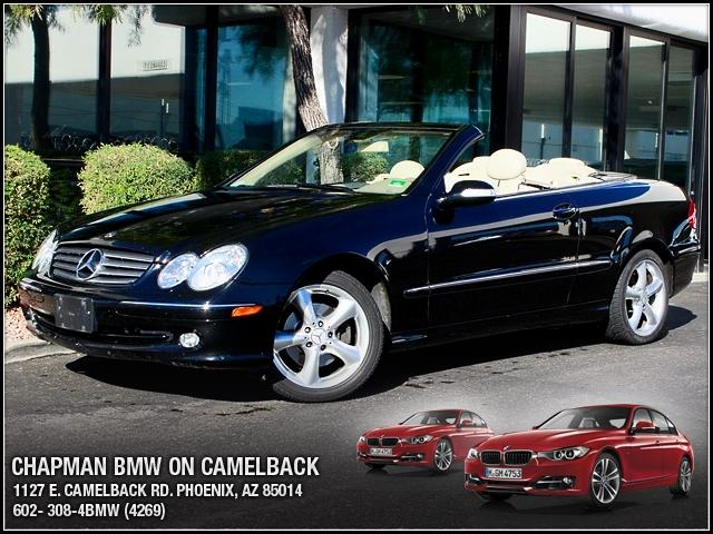 2005 Mercedes CLK-Class Cabriolet 32L 68622 miles 1127 E Camelback BUY WITH CONFIDENCE C