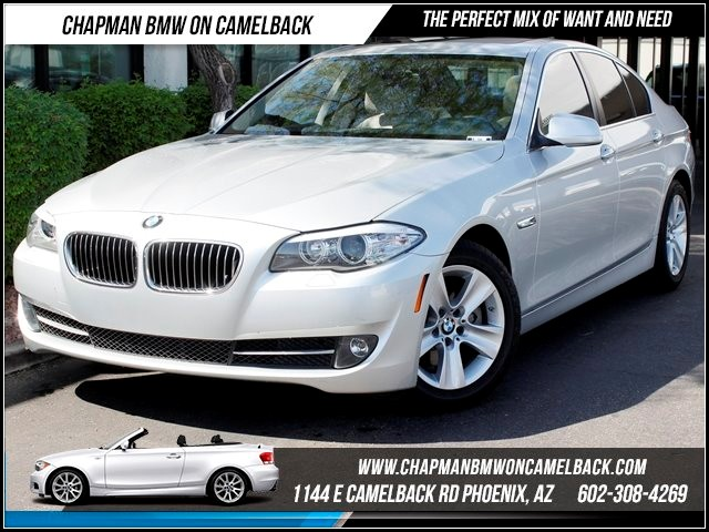 2011 BMW 5-Series 528i 50283 miles 1144 E Camelback Chapman BMW on Camelback in Phoenix is the C