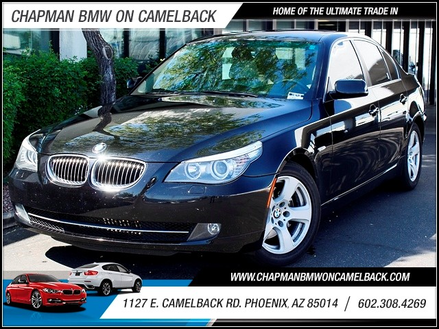 2008 BMW 5-Series 528i 93597 miles Premium Package Moonroof Leather Phone hands free Phone voi