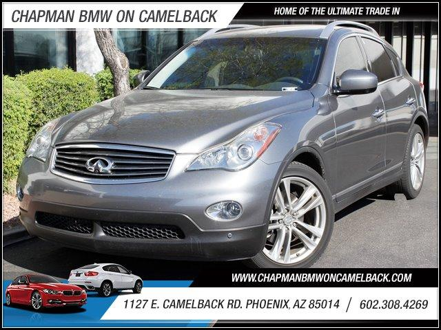 2011 Infiniti EX35 19574 miles 127 E Camelback BUY WITH CONFIDENCE Chapman BMW is located