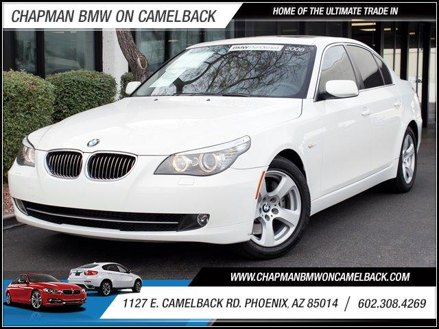 2008 BMW 5-Series 535i Prem Pkg 75523 miles 1127 E Camelback BUY WITH CONFIDENCE Chapman
