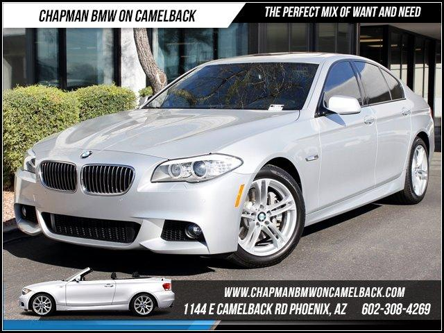 2011 BMW 5-Series 535i MsportPrem Pkg 24011 miles 1144 E CAMELBACK RD March CPO Sales Event