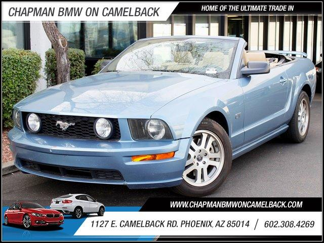 2005 Ford Mustang Conv GT 72450 miles ABS AC AMFM Stereo CD Changer MP3 Player Cruise Contr