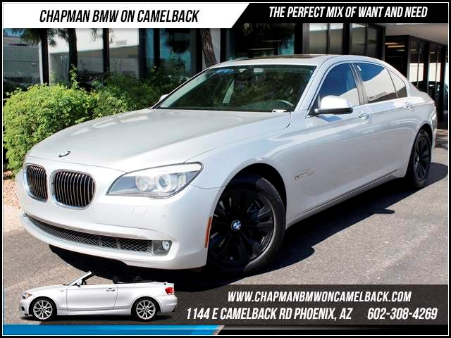 2012 BMW 7-Series 740Li Nav Prem Sound 31631 miles 1144 E CamelbackChapman BMW on Camelback in P