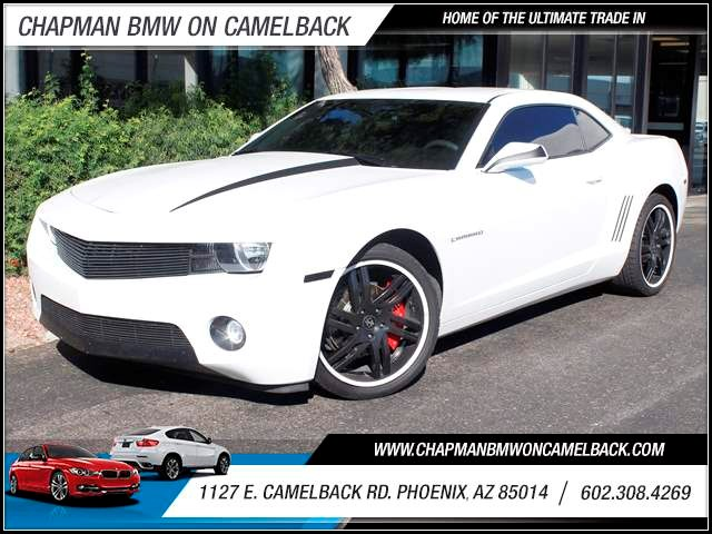 2011 Chevrolet Camaro LS 35921 miles 1127 E Camelback BUY WITH CONFIDENCE Chapman BMW is