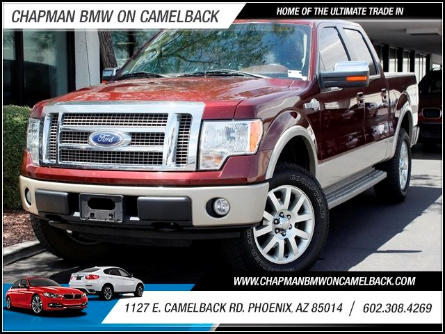 2010 Ford F-150 King Ranch Crew Cab 65806 miles 1127 E Camelback BUY WITH CONFIDENCE Chap