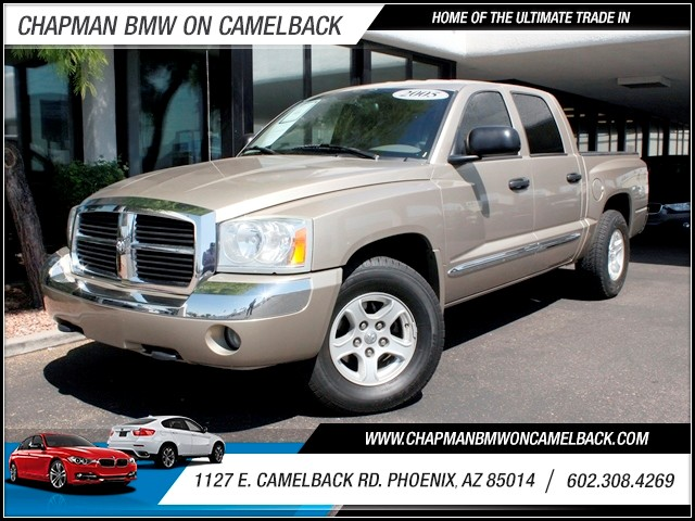 2005 Dodge Dakota Laramie Crew Cab 110000 miles 1127 E Camelback BUY WITH CONFIDENCE Chap