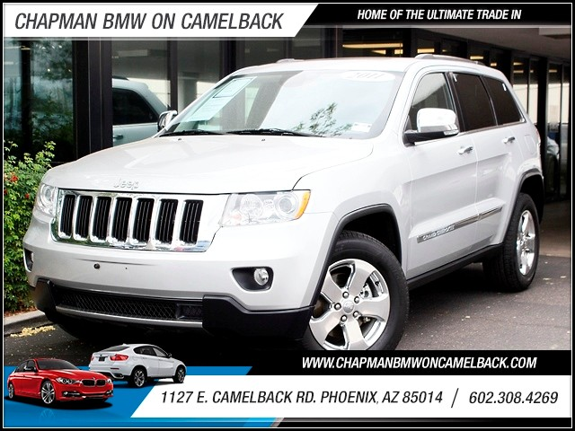 2011 Jeep Grand Cherokee Limited 53927 miles Bi- HID Headlamps Backup Camera DVD Entertainment