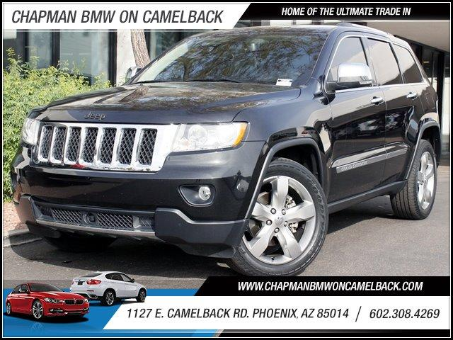 2011 Jeep Grand Cherokee Overland 30462 miles 1127 E Camelback BUY WITH CONFIDENCE Chapma
