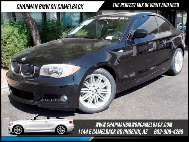 2013 BMW 1-Series 128i M Sport Pkg 17415 miles 1144 E Camelback The BMW Certified Edge Sales Eve