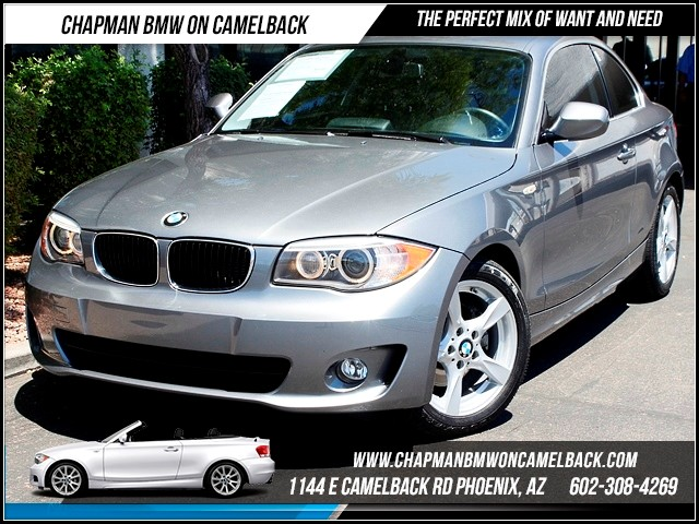 2012 BMW 1-Series 128i Nav 16439 miles 1144 E Camelback The BMW Certified Edge Sales Event If