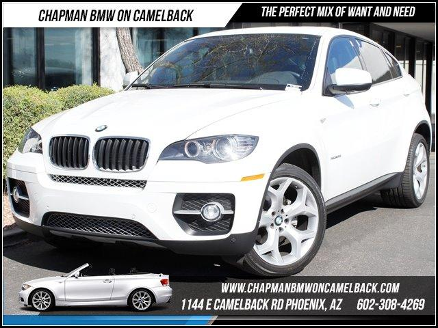 2012 BMW X6 35i AWD PremSport Pkg 24430 miles 1144 E CAMELBACK RD March CPO Sales Event All