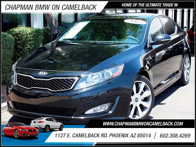 2013 Kia Optima SX 24038 miles 1127 E Camelback BUY WITH CONFIDENCE Chapman BMW is locate