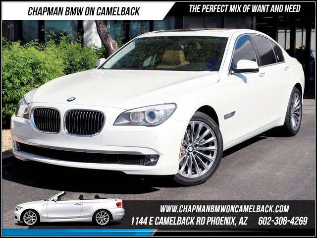 2012 BMW 7-Series 740i 27242 miles 1144 E Camelback Chapman BMW on Camelback in Phoenix is the C