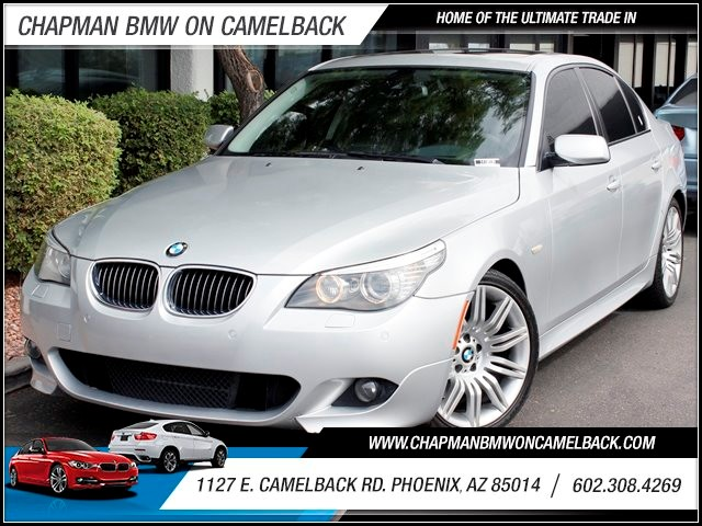 2008 BMW 5-Series 550i 86013 miles 1127 E Camelback BUY WITH CONFIDENCE Chapman BMW Used