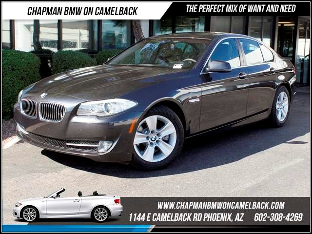 2012 BMW 5-Series 528i 34586 miles 1144 E CamelbackHappier Holiday Sales Event on Now Chapman