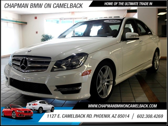 2013 Mercedes C-Class C250 Sport 14527 miles 1127 E Camelback BUY WITH CONFIDENCE Chapman