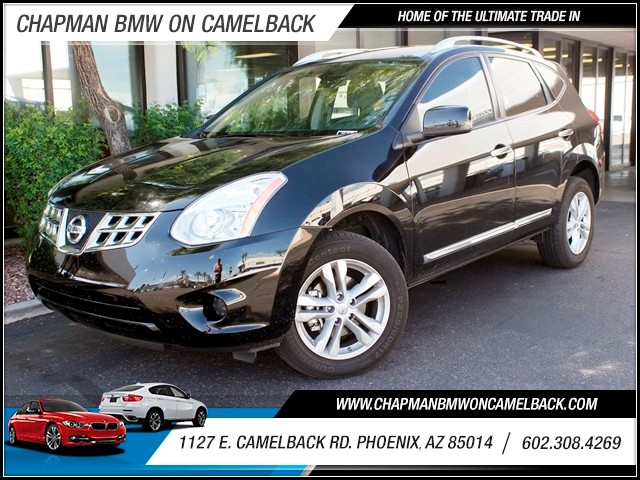 2012 Nissan Rogue SV 25062 miles 1127 E Camelback BUY WITH CONFIDENCE Chapman BMW Used Ca