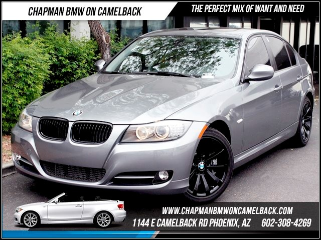 2011 BMW 3-Series Sdn 335i 16868 miles Premium Package Hi-fi sound system Dark Burl Walnut wood