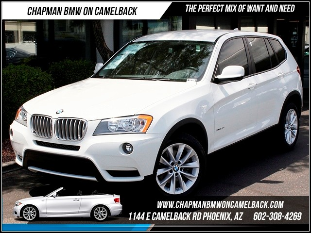 2013 BMW X3 xDrive28i 26910 miles 1144 E Camelback Summer is here and the deals are sizzling C