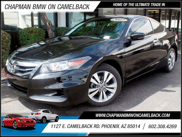 2012 Honda Accord LX-S 34129 miles 1127 E Camelback BUY WITH CONFIDENCE Chapman BMW is lo