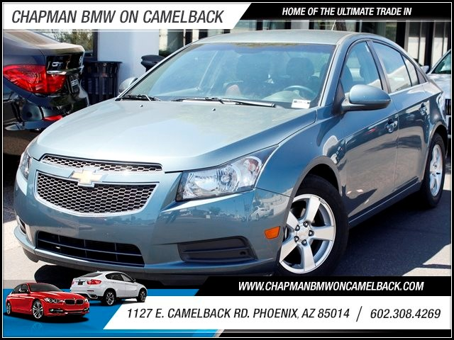 2012 Chevrolet Cruze LT 27839 miles 1127 E Camelback BUY WITH CONFIDENCE Chapman BMW is l