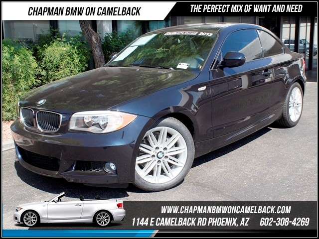2013 BMW 1-Series 128i M Sport Pkg 15699 miles 1144 E Camelback The BMW Certified Edge Sales Eve